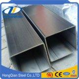 Vente en gros ronde / carré SUS201 304 316 310S S31803 Tuyau en acier inoxydable pour décoration