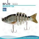 Palan de pêche artificiel peu profond de Swimbait de section de pêche d'amorce basse multi d'attrait