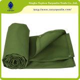 Tessuto impermeabile di Tarps della tela di canapa, tela incatramata di tela di canapa del cotone per la tenda, coperchi
