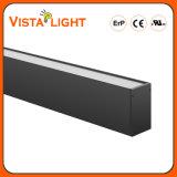 Luz linear energy-saving do pendente do diodo emissor de luz da extrusão de alumínio para hotéis