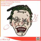 Distintivo personalizzato promozionale di Pin del risvolto di disegno 2D/3D