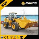 적재 능력 Shangong Sem655D 바퀴 로더/5 톤 + 3m3 물통/Weichai 엔진 162kw