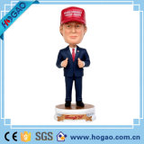 Factory Custom Made Best Home Décoration cadeau Polyresin Trump Bobblehead
