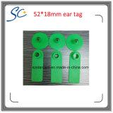 カスタム印刷のゆとりのマークのプラスチックヒツジの耳札