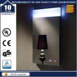Luxo TUV marcado LED iluminado banheiro retroiluminado espelho para o hotel