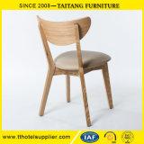 Cadeira de jantar de restaurante de madeira maciça de alta qualidade