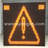 Sinal dinâmico da mensagem do diodo emissor de luz do indicador ao ar livre, placas do sinal de estrada do diodo emissor de luz do indicador de cor cheia do controlo de tráfico