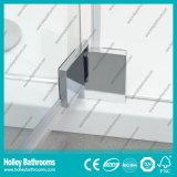 Tela de chuveiro de porta articulada com vidro laminado temperado (SE941C)