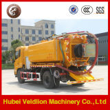 Dongfeng 6X4 하수 오물 진공 흡입 & 고압 분출 트럭, 10 의 000 리터 하수 오물 흡입 트럭