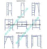 De veilige SGS Overgegaane Steiger van het Frame van de Flat voor Decoratie