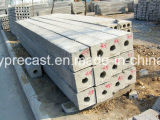 De voorgespannen Lateibalk die van de Straal van de Omheining Post Concrete T Machine maakt