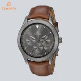 Men's Watch Leather Fancy Chronograph Sport Watch 72408