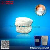 Голубая зубоврачебная силиконовая резина для прессформы гипса зубоврачебной