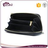 Stile di cuoio Handmade della chiusura lampo della borsa del raccoglitore delle donne dell'unità di elaborazione di alta qualità di Fani