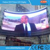 P10 visualização óptica ao ar livre do diodo emissor de luz da cor cheia HD para o anúncio do carrinho