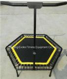 Mini Trampoline de salto do exercício do edifício de corpo de Brban com faixa elástica