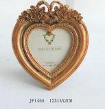 Formenviereck Polyresin silberner Rose Hochzeits-Foto-Rahmen