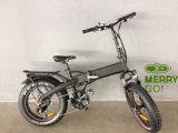 48V 500W Pneu vélo électrique pliable de matières grasses