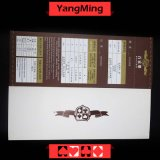 Juegos del casino del póker del bacará/papel de grabación especial para mostrar el resultado al jugador Ym-Bp01