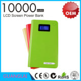 La máxima calidad de potencia de carga rápida de los bancos 10000mAh