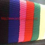 Tessuto tinto del poliestere del tessuto del jacquard della fibra chimica per la tessile della casa del vestito del cappotto di vestito dalla donna