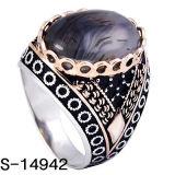 925 colori di rame d'argento dell'anello due degli uomini del polo dei nuovi modelli hanno placcato