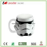 La tazza di caffè di ceramica del robot di figura fredda del fronte, OEM è benvenuta