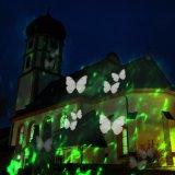 Новое конструированное украшение 2 напольных/сада в 1 свете проекции Kaleidoscope