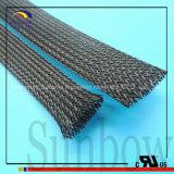 スリーブを付ける/拡張可能に編みこみにスリーブを付けることSunbowファブリックケーブル