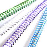 Emperramento espiral plástico de Coilbind para fontes e artigos de papelaria do emperramento do escritório