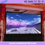 Aluguer de Interior3.91 HD Die-Casting Cores de LED da placa do ecrã do painel de Publicidade de Fábrica (CE, RoHS, FCC, ccc)