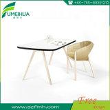 メラミン樹脂のフェノールのコンパクトの積層物のテーブルの上