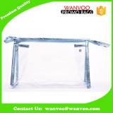 包装の化粧品および構成のためのジッパーが付いているカスタム柔らかいゆとりPVC装飾的な袋