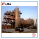 Cilindro de secagem máquina de mistura do asfalto da proteção ambiental de 80 T/H com baixa emissão