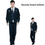 Uniformes Three-Piece do protetor de segurança do serviço do OEM de 35%Cotton e de 65%Polyester
