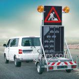 Het openlucht LEIDENE Teken van de Vertoning, de Raad van het Op een voertuig gemonteerde Hoogste van de Auto Bericht van het leiden- Teken
