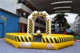 Boule de démolition gonflable jaune personnalisée pour enfants