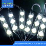 Iluminação de anúncios ao ar livre com lente impermeável para módulo LED