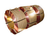Alambre de 0,75 mm bronceado talón de la llanta