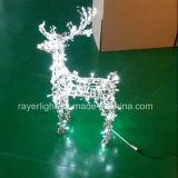 庭の装飾のためのLEDのシカライトを驚かせる小さいクリスマス