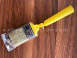 Mango de plástico de bloque de techo con material de las cerdas del cepillo