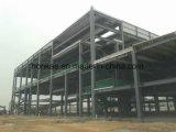速いアセンブルのプレハブの鉄骨構造の倉庫