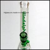 Hfy Sandblasted труба водопровода 7mm Illadelph замороженная Beaker куря стеклянная