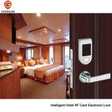 新しいデザインホテルの機密保護、スペースアルミニウム安いホテルのドアロック