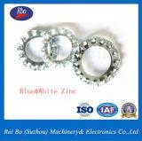 Rondelles en acier inoxydable DIN6798un ressort en acier dentelé externe de la rondelle de blocage