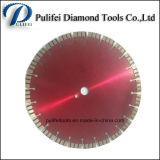 El diamante de corte de piedra circular vio la lámina para el mármol del granito