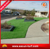 Hierba artificial que ajardina barata del precio 40m m para el jardín