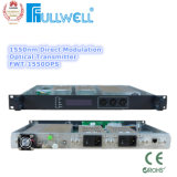 1550 Transmisor óptico con AGC de doble fuente de alimentación