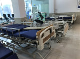 Topmedi 5機能横たわる手動病院用ベッドの価格