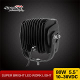 IP67 imperméabilisent la lumière tous terrains de travail de 5.5 «entraîneurs DEL du camion 80W